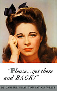 Ww2 Mixed Media Posters - Get There And Back Poster by War Is Hell Store