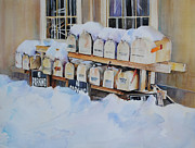 Antiques Paintings - Going Postal II by P Anthony Visco