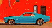 Sixties Originals - Grabber Blue Boss by Greg Clibon