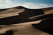 Middle Of Nowhere Prints - Great Sand Dunes Print by Keith Kapple