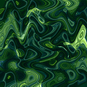 Stefan Kuhn - Green Abstract
