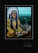 Peace Maker Prints - GREETING CARD - The Offering Print by Andrew Wells