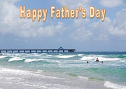 Judy Hall-Folde - Happy Fathers Day Beach