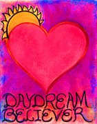 Daydream Mixed Media Acrylic Prints - Heartww009 Acrylic Print by Patricia Marie Amber Sorenson