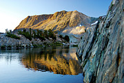 Saddlebag Posters - High Sierra Reflections-2 Poster by Keith Ducker