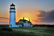 Thomas Schoeller - Highland Lighthouse - Sunset Burst