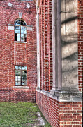 Tamyra Ayles Art - Historic Veterans Hospital II by Tamyra Ayles
