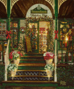 Poinsettias Paintings - Holiday Treasured by Doug Kreuger