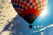 Bob Orsillo - Hot Air Balloon Eclipsing the Sun
