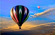 Bob Orsillo - Hot Air Balloons at Sunset