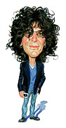 Exaggerarts Paintings - Howard Stern by Art  