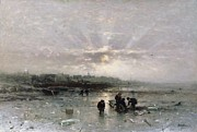 Ludwig Munthe - Ice Fishing