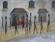Homeless Paintings - Ignoring the Homeless by Judith Rhue