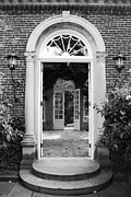 French Doors Framed Prints - In or Out Framed Print by Phil Cappiali Jr
