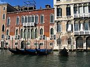 Yvonne Ayoub - Italy Venice  and gondolas on the Grand...