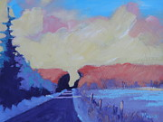 January Paintings - January color by Stephen Wysocki