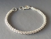 Sterling Silver Bracelet Art - Jens Pind Bracelet by Beverly Fox