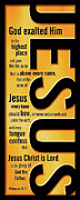 Sacrifice Posters - Jesus Poster by Shevon Johnson