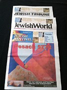 Marlene Burns - Jewish Sentinel Cover