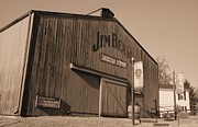 Lynnette Johns - Jim Beam Distillery Sepia