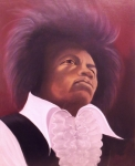 Jimi Hendrix Painting Originals - Jimi Hendrix by Helen Thomas