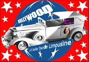 Los Angeles Digital Art Metal Prints - Joan Crawfords Limousine Metal Print by Garry Staranchuk