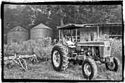 Debra and Dave Vanderlaan - John Deere in Black and White