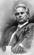 John Gotti Posters - John Gotti Poster by Ylli Haruni