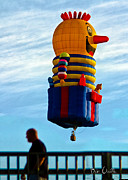 Bob Orsillo - Just passing through  Hot Air Balloon