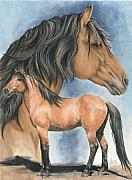 Kiger Mustang Fine Art Print by Barbara Keith