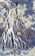 Hokusai - Kirifuri Fall on Kurokami Mount