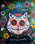 Pristine Cartera Turkus - Kitty Day Of The Dead