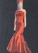 Kate Farrant - Lady in Red- The Red Dress