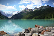 Sandra Cunningham - Lake Louise located in the Banff...