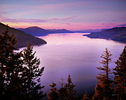 Lake Pend Oreille Posters - Lake Pend Oreille 2 Poster by Leland Howard