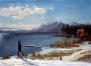 Albert Bierstadt  - Lake Tahoe