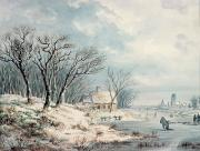 JJ Verreyt - Landscape in Winter