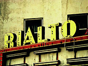 Rialto Theatre Prints - Last Showing Print by Joe JAKE Pratt