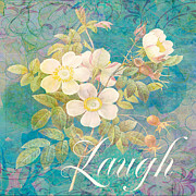Laugh Mixed Media - Laugh by Ricki Mountain