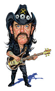 Heavy Metal Music - Lemmy Kilmister by Art