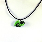 Old Jewelry Originals - Lil Cthulhu H.P. Lovecraft Alien Cartoon Necklace by Pet Serrano
