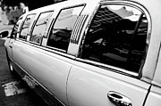 Limousine Framed Prints - Limousine car Framed Print by Sami Sarkis