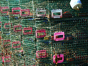 Green - Lobster Traps by Lynn-Marie Gildersleeve