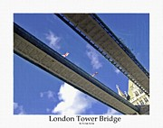 Victorian London Posters - London Tower Brigde 4 Poster by Stefan Kuhn