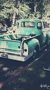 Old Cars Posters - Love the Truck Poster by Awildrose Photography