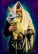 Sam Shacked - Lubavitcher Rebbe with torah