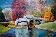 Anne-Elizabeth Whiteway - Mabry Mill on Blue Ridge Parkway in VA. USA