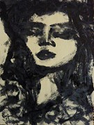 Madonna Drawings Prints - Madonna Print by Preston -