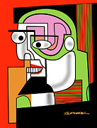 Esque Posters - Man with Goatee Poster by Dean Gleisberg