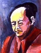 Leaders Painting Originals - Mao by Les Leffingwell